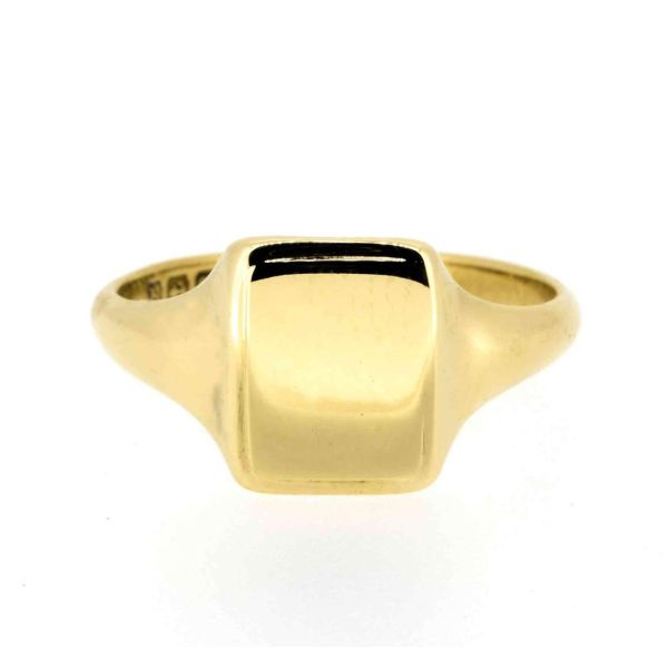 Early 20th Century 18ct Yellow Gold Signet Ring