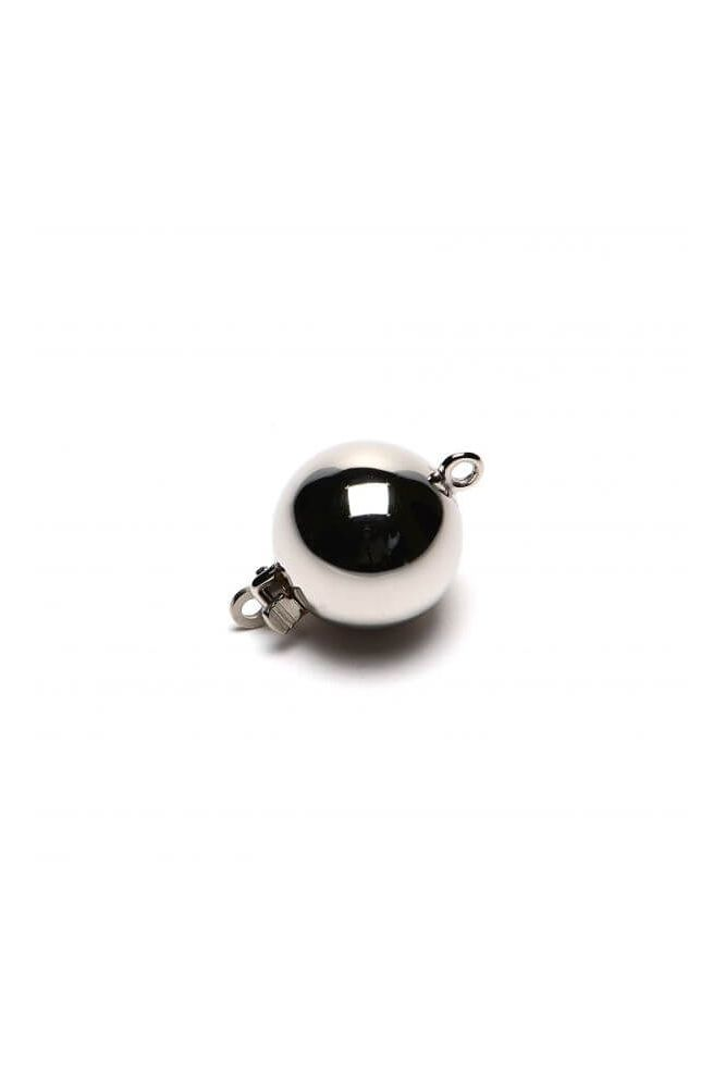 Silver Ball Clasp 7 mm