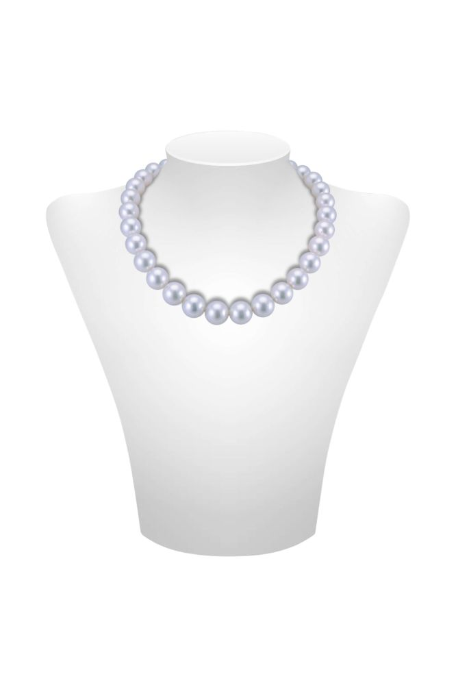 South Sea Cultured Pearl Necklace 12 to 14.6 mm