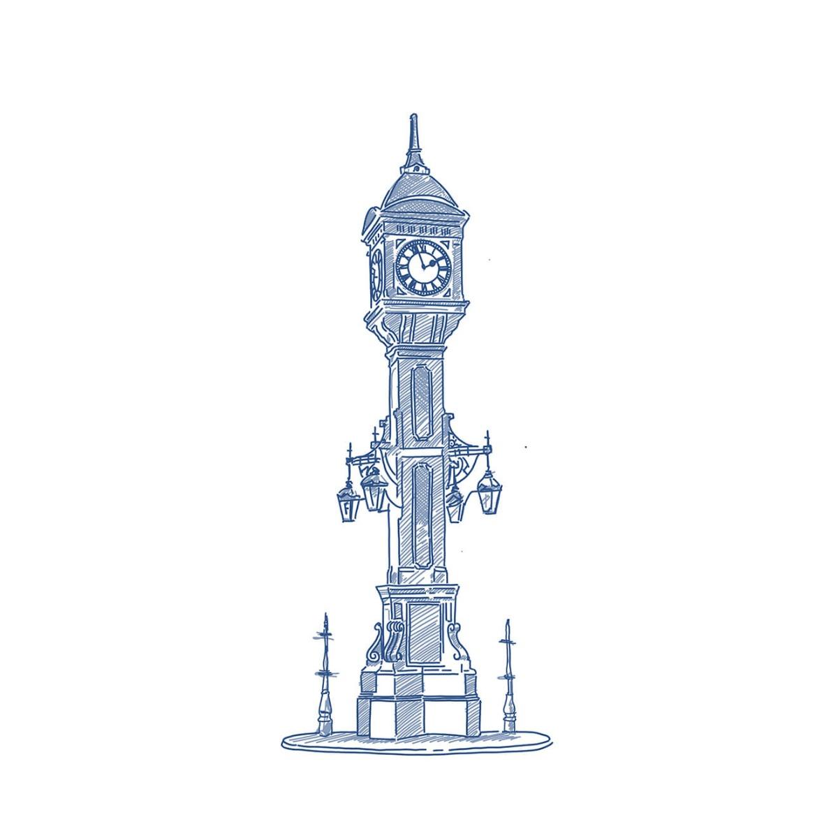 Chamberlain Clock tower, Birmingham