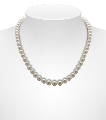 Graduated Akoya Pearl Necklaces