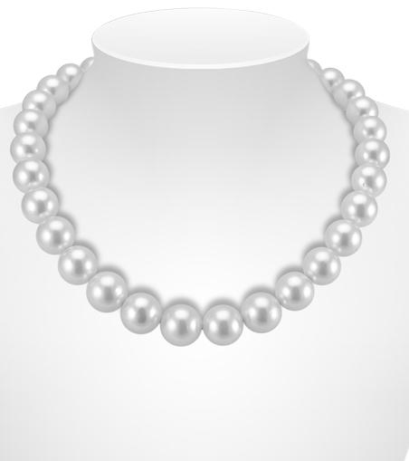 Uniform Colour South Sea Pearl Necklaces