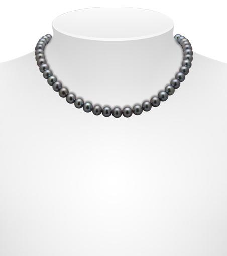 Dark Freshwater Necklaces