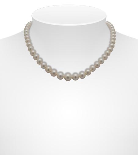 White Freshwater Necklaces