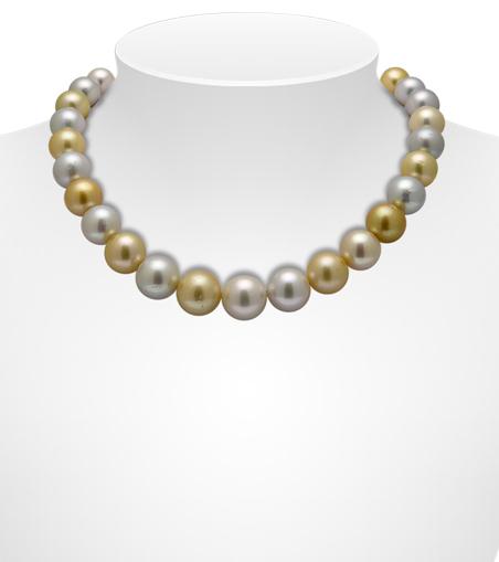 Multicolour South Sea Pearl Necklaces