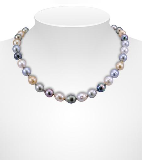Baroque Tahitian Pearl Necklaces