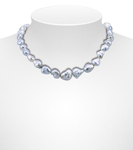 Keshi Tahitian Pearl Necklaces