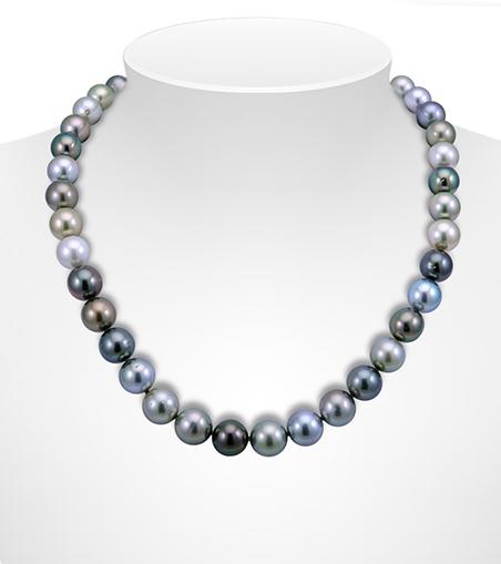 Multicolour Tahitian Pearl Necklaces