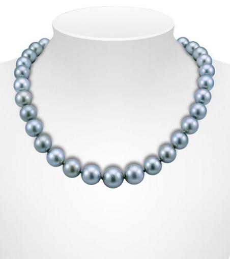 Uniform Colour Tahitian Pearl Necklaces