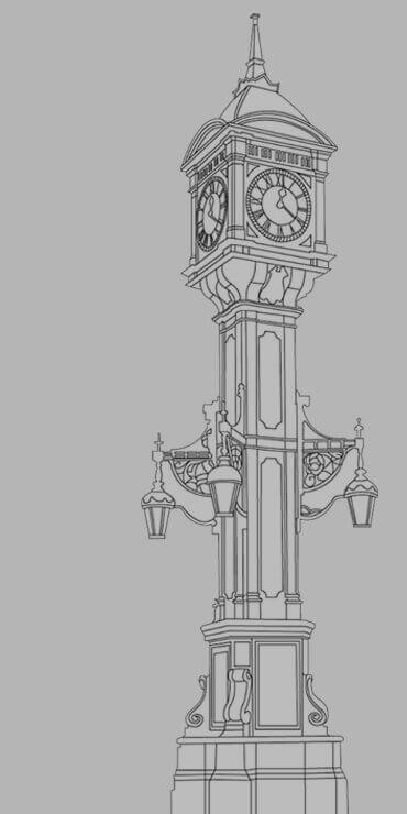 Chamberlain Clock, Jewellery Quarter