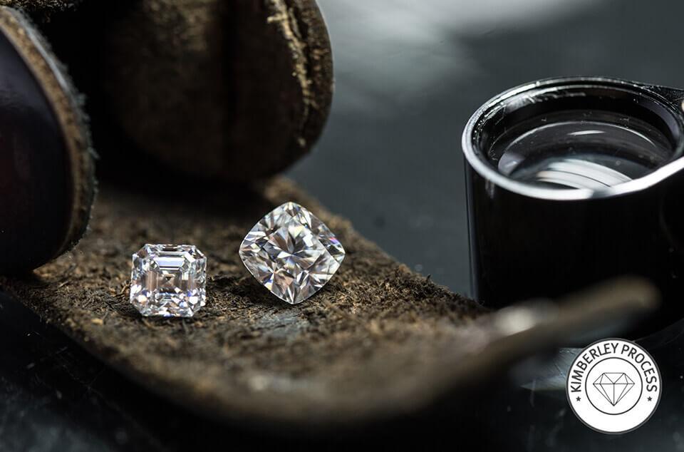 Kimberly Process Diamonds | Pearl Gallery